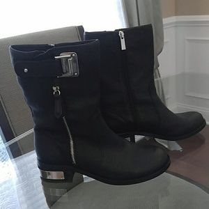 Vince Camuto Leather Boots 7.5
